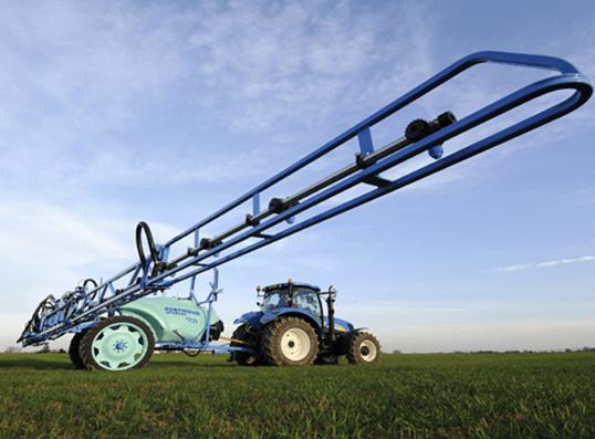 Mașină de erbicidat tractată – Berthoud Sprinter